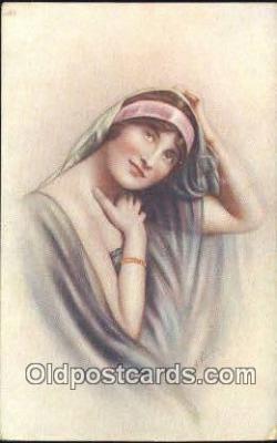 xrt500194 - Artist Signed Postcard Post Cards Old Vintage Antique
