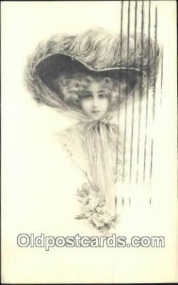 xrt500195 - Artist Signed Postcard Post Cards Old Vintage Antique