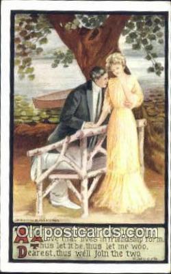 xrt500198 - Artist Signed Postcard Post Cards Old Vintage Antique