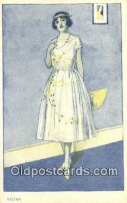 xrt500221 - Artist Signed Postcard Post Cards Old Vintage Antique