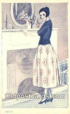xrt500222 - Artist Signed Postcard Post Cards Old Vintage Antique