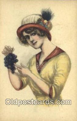 xrt500248 - Artist Signed Postcard Post Cards Old Vintage Antique