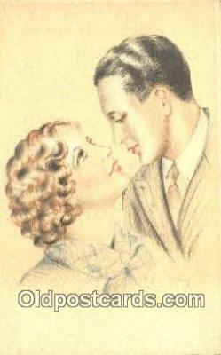 xrt500258 - Artist Signed Postcard Post Cards Old Vintage Antique