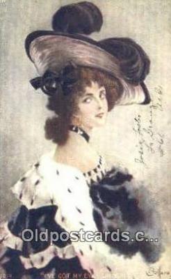xrt500259 - Artist Signed Postcard Post Cards Old Vintage Antique