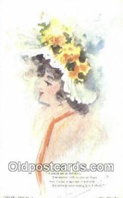 xrt500283 - Artist Signed Postcard Post Cards Old Vintage Antique