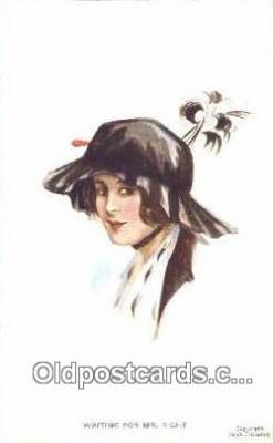 xrt500287 - Artist Signed Postcard Post Cards Old Vintage Antique