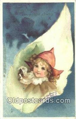 xrt500292 - Artist Signed Postcard Post Cards Old Vintage Antique