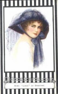 xrt500295 - Artist Signed Postcard Post Cards Old Vintage Antique