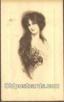 xrt500326 - Artist Signed Postcard Post Cards Old Vintage Antique