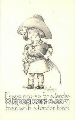 xrt500368 - Artist Schlesinger Bros. Artist Signed Postcard Post Cards Old Vintage Antique