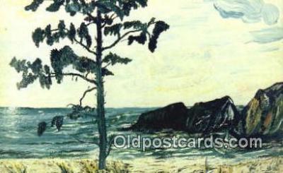 xrt500381 - Artist Nyla G. Thompson Artist Signed Postcard Post Cards Old Vintage Antique
