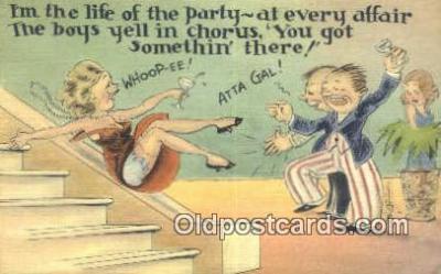 xrt500392 - Artist Signed Postcard Post Cards Old Vintage Antique