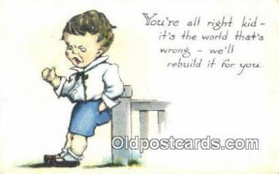 xrt500402 - Artist Signed Postcard Post Cards Old Vintage Antique