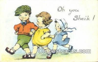 xrt500405 - Artist Signed Postcard Post Cards Old Vintage Antique