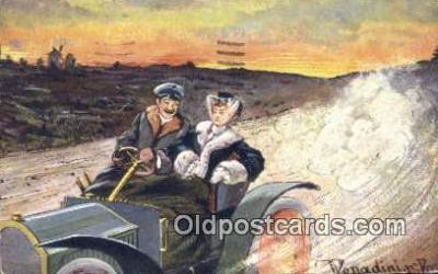 xrt500410 - Artist Signed Postcard Post Cards Old Vintage Antique