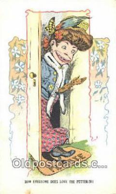 xrt500428 - Artist Signed Postcard Post Cards Old Vintage Antique