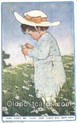 xrt500451 - Artist Signed Postcard Post Cards Old Vintage Antique
