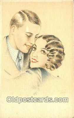 xrt500468 - Artist Signed Postcard Post Cards Old Vintage Antique