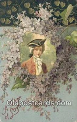 xrt500490 - Artist Signed Postcard Post Cards Old Vintage Antique