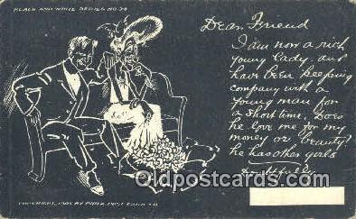 xrt500497 - Artist Signed Postcard Post Cards Old Vintage Antique