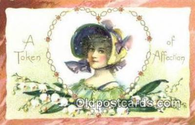 xrt500559 - Artist Signed Postcard Post Cards Old Vintage Antique