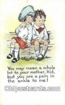 xrt500573 - Misc Artist Signed Postcard Post Card Old Vintage Antique