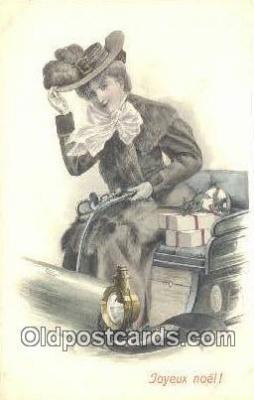xrt500588 - Misc Artist Signed Postcard Post Card Old Vintage Antique