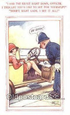 xrt500632 - Misc Artist Signed Postcard Post Card Old Vintage Antique