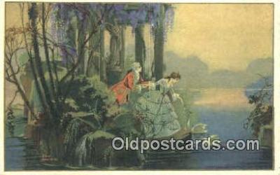 xrt501002 - Artist Ezio Amichini Postcard Post Card Old Vintage Antique Series # 282