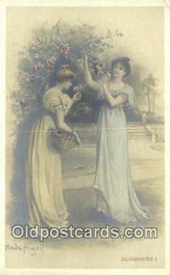 xrt501007 - Artist Maude Arigell Postcard Post Card Old Vintage Antique Series # 166