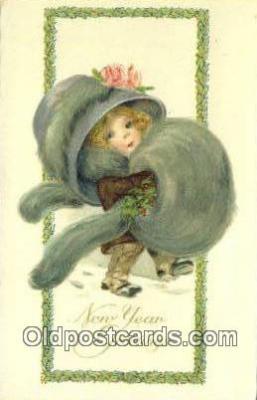 xrt502010 - Artist Bertha Blodgett Postcard Post Card Old Vintage Antique Series # 2704