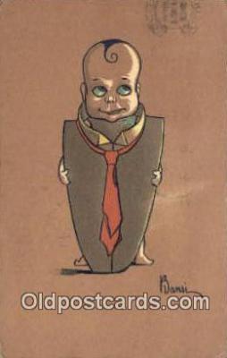 xrt502011 - Artist Bansi Postcard Post Card Old Vintage Antique Series # 2203
