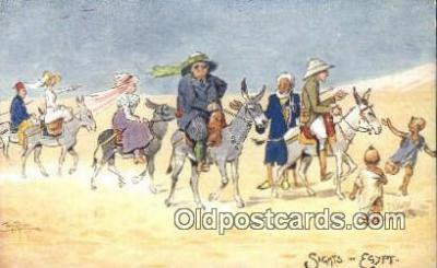 xrt502055 - Artist Tony Binder Postcard Post Card Old Vintage Antique Series # 8943