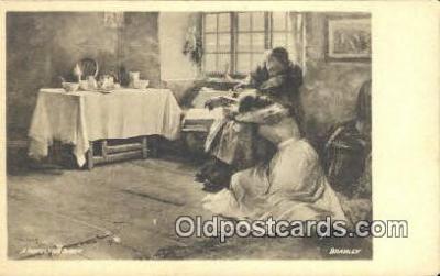 xrt502056 - Artist Frank Bramley Postcard Post Card Old Vintage Antique