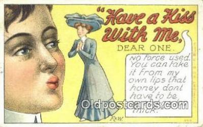 xrt502061 - Artist F Blum, F&W Postcard Post Card Old Vintage Antique Series # 777
