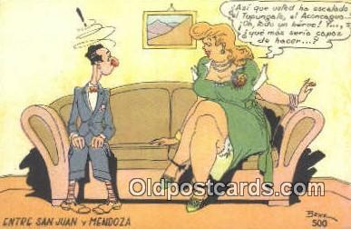 xrt502062 - Artist Benz Postcard Post Card Old Vintage Antique Series # 500