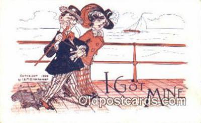 xrt502069 - Artist Barnes Postcard Post Card Old Vintage Antique