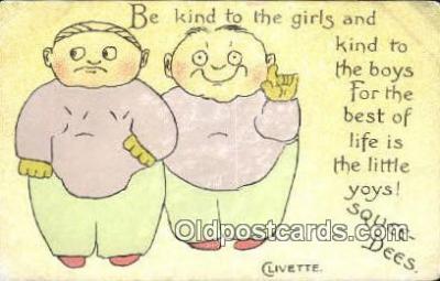 xrt503021 - Artist Clivette Postcard Post Card Old Vintage Antique