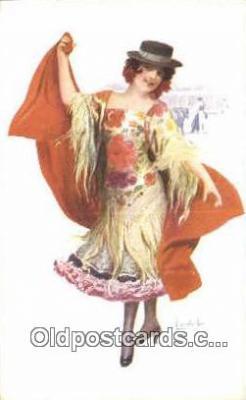 xrt503029 - Artist Chantegler Postcard Post Card Old Vintage Antique Series # 863