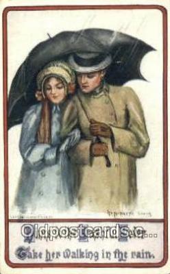 xrt503038 - Artist Antoinette Clark Postcard Post Card Old Vintage Antique Series # 183