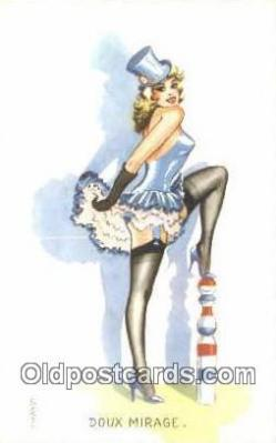 xrt503049 - Artist Carriere Postcard Post Card Old Vintage Antique Series # 111