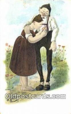 xrt508003 - Artist Huber, Katherine Postcard Post Card, Old Vintage Antique