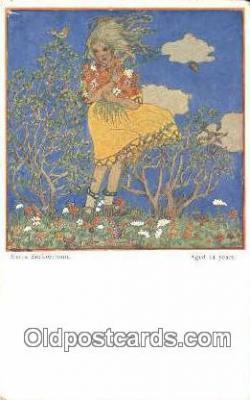 xrt526001 - Cizek, Franz Postcard Post Card Old Vintage Antique