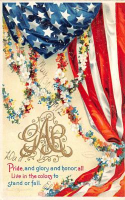xrt603020 - Memorial Day Decoration Day Post Card Old Vintage Antique