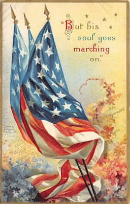 xrt603025 - Memorial Day Decoration Day Post Card Old Vintage Antique