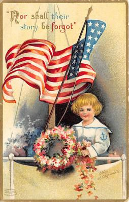 xrt603031 - Memorial Day Decoration Day Post Card Old Vintage Antique