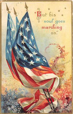 xrt603040 - Memorial Day Decoration Day Post Card Old Vintage Antique