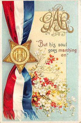 xrt603044 - Memorial Day Decoration Day Post Card Old Vintage Antique