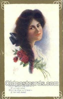 xrt700232 - Artist Postcard Post Card Old Vintage Antique