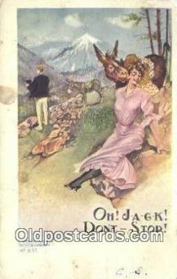 xrt700249 - Artist Postcard Post Card Old Vintage Antique